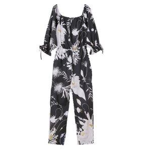 NWT Anna Glover X H&M Floral Jumpsuit